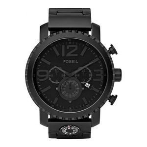 Fossil Men's 'Gage' Black Stainless Steel Watch